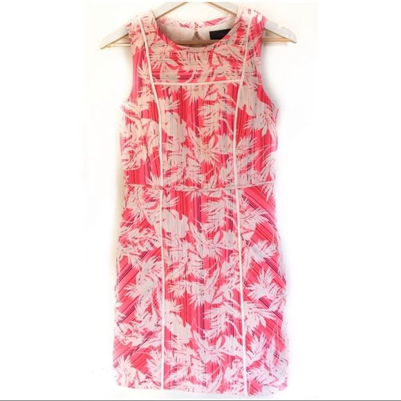 J. Crew Dresses & Skirts - J Crew Collection Sun Faded Tropical Jacquard
